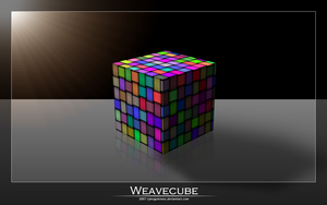 Weavecube by cjmcguinness