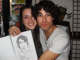 I met Darren Criss :D by loveinfullbloom