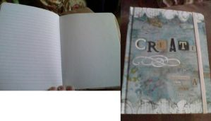 new drawing book! by Dibe