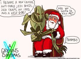 A Very Grievous Christmas by thehaydenclone