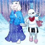 Snowdin by Rumay-Chian