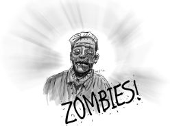 Zombies! 01 by resresres
