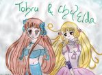 Tohru and Chi by Heaven666