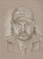 WIP Supernatural Bobby Singer by scotty309