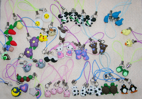 Phone charms FULL VIEW PLEASE by mistoftime