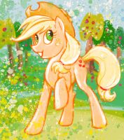 Applejack by MintTea-Pony