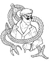 Doctor Octopus by aureath