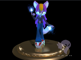 3D Character Model- Jane the Wolf by SasheraDesigns
