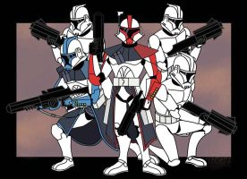 clone troopers by daverge