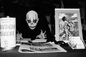 Me at One Eyed Jack signing by Sapoman