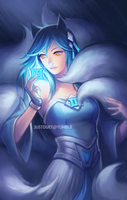Champ Ahri by justduet