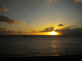 Maui Beach Sunset by Marilyn958