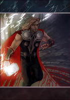 Thor by Weissidian