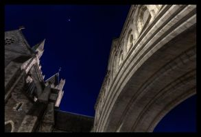 Arch to Christchurch HDR by suolasPhotography