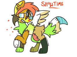 It's Showtime! by SteampunkFridgeRider