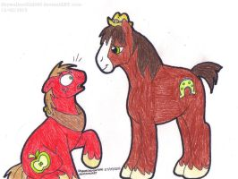 MLP: Big Mac And Troubleshoes by SkywalkerGirl666