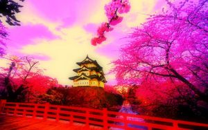 Cherry Blossoms by ArtemisSage