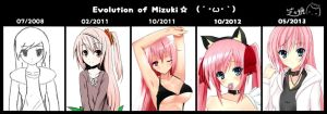 evolution on Mizuki.. by nagi-the-cheese