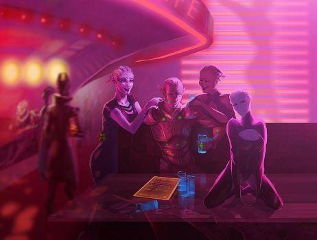 Lower *Afterlife* club by GronnUlv