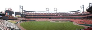 Busch Stadium Panorama by blankearthdesign
