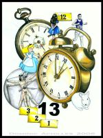 Alice and the Clocks by MetaMephisto