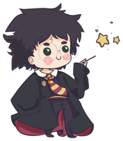 Simple Chibi Harry Potter by x--lalla--x