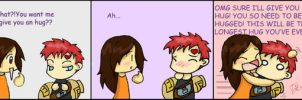 Gaara and the Hug Therapy by FEuJenny07