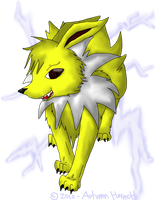 AT: Jolteon by AutumnLubbsTheLulz