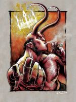 Hellboy by DanielGovar