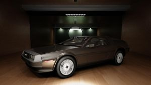 DeLorean 1982 DMC-12 by melkorius