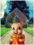 Miss Giggles Goes to Church. by decayedyouth