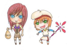 ToDA: Chibi Set 1 by Ed-the-fourth
