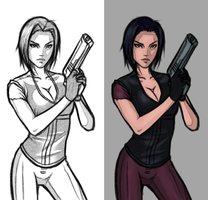 Fear Effect - Hana Tsu-Vachel by FearEffectInferno