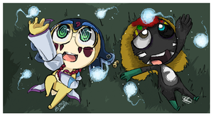 -iScribble- Little souls by W-Lanier