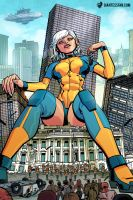Ginormica: Queen of the Monsters! by giantess-fan-comics