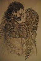 Loki and Sigyn by Chiara-LokisDottir