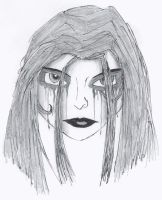 Goth Chick by LordReserei