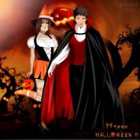 Obito and Rin: Trick or treat! by Lesya7