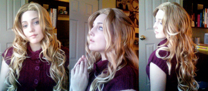 Cosplay - CC Mary Wig Test by cafe-lalonde