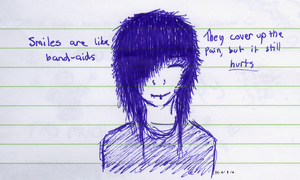 Smiles are like band-aids... by Itamichiro