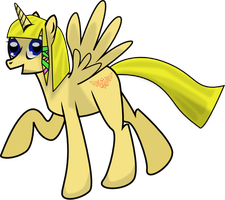 Skyward Sword Zelda Pony by Isoscelescube