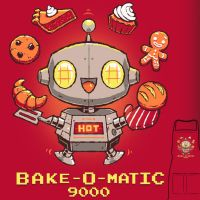 Bake-O-Matic 9000 - apron by InfinityWave