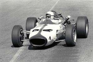 Bruce McLaren (Mexico 1966) by F1-history