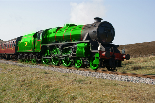 Realistic Herny the Green Engine by TheLogoCooler