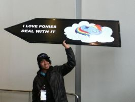 Ohayocon 2012: Proud Brony by BigAl2k6