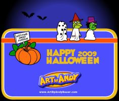 Happy Halloween 2009 by Art-by-Andy