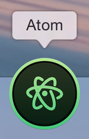 Atom Replacement Icon by JimmyGreen
