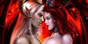 Icon Commission - Demonic Union by jocarra
