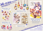 Japan Expo 2013 - main products by Mi-eau