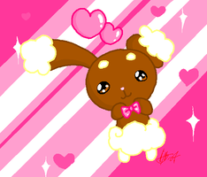 MSPaint Buneary by MarticusProductions